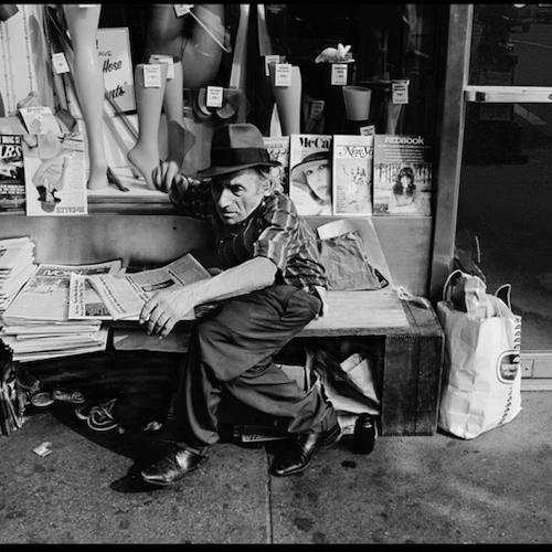 News Seller, lower Manhattan