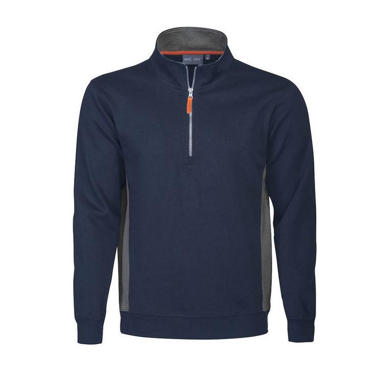 Mac One Bill Halfzip Sweatshirt