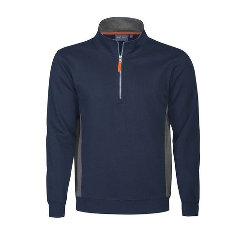 Mac One Bill Halfzip Sweatshirt