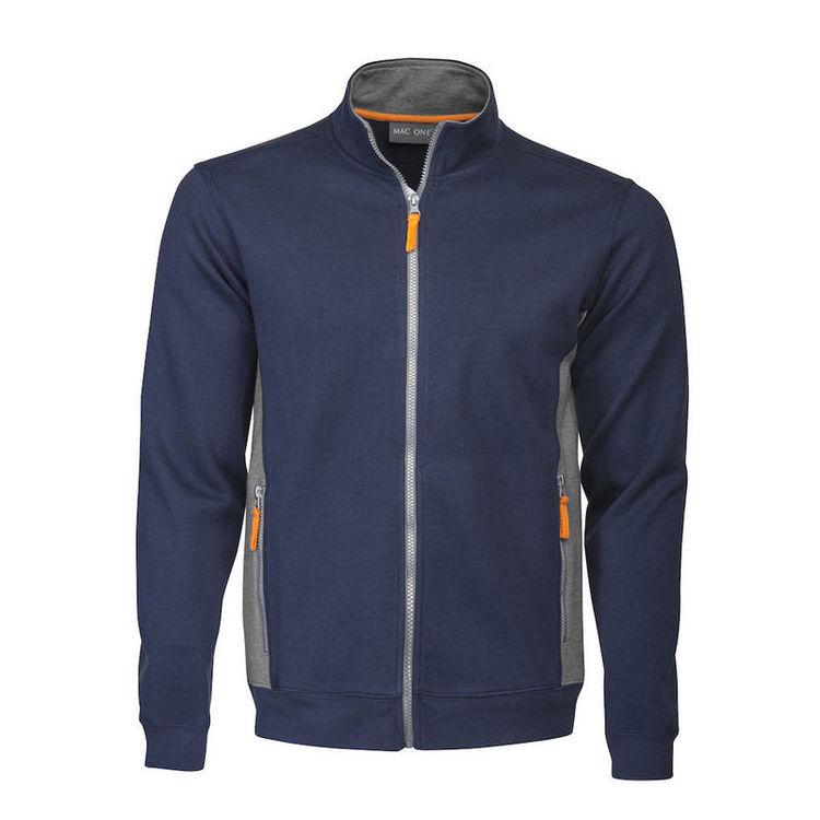Mac One Blake Fullzip Sweatshirt