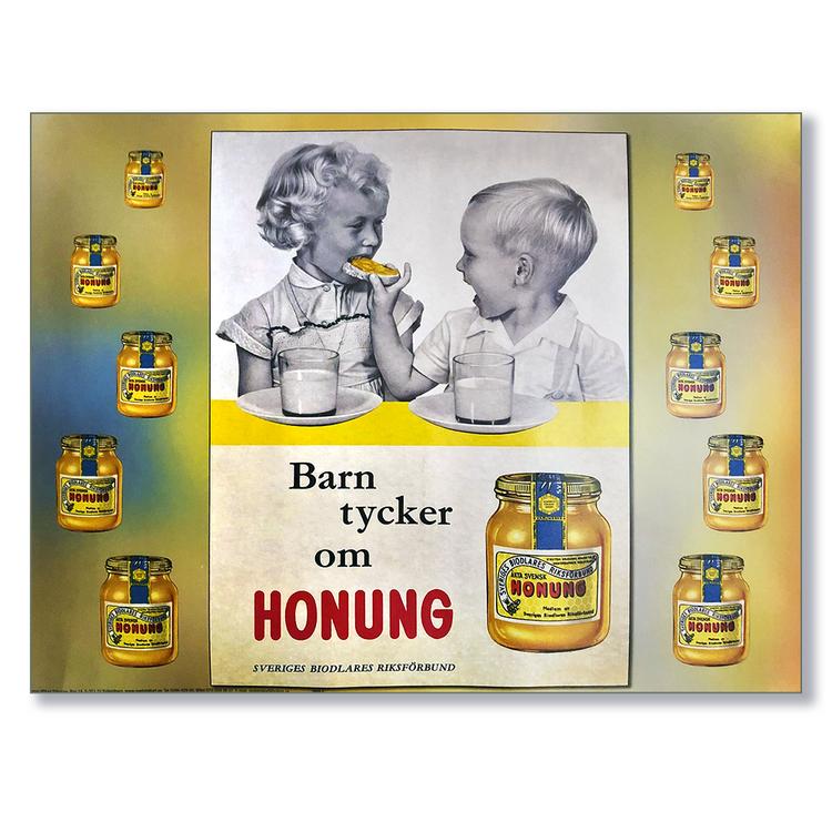 Affisch - Honung