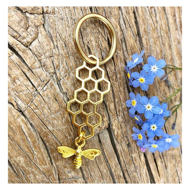 Nyckelring Hexagon