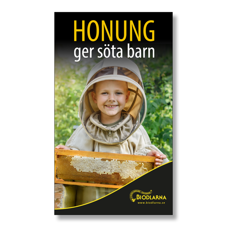Tygvepa: Honung ger söta barn 70x120 cm