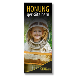 Rollup: Honung ger söta barn 80x200 cm