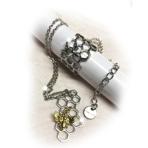 Smyckesset - Välj mellan Guld / Silverring