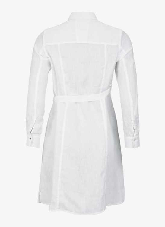 Linen Flare skjortklänning