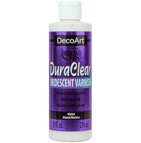 DecoArt Iridescent Varnish       Violet 59ml