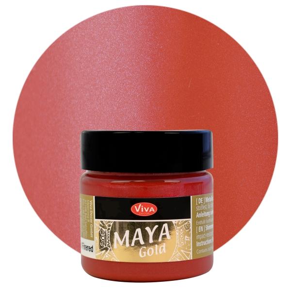 Viva Decor       Maya Gold         Firered        45ml