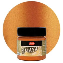 Viva Decor Maya Gold OrangeGold