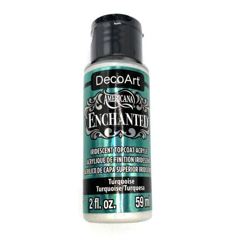 DecoArt     Enchanted           Turquoise   59ml