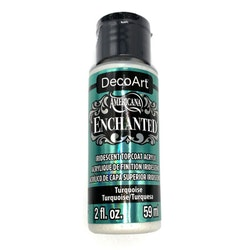 DecoArt     Enchanted           Turquoise   59ml