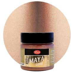 Viva Decor Maya Gold Rose Gold