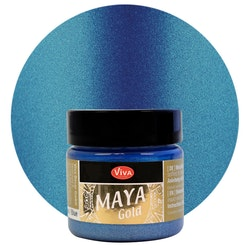 Viva Decor Maya Gold Blue