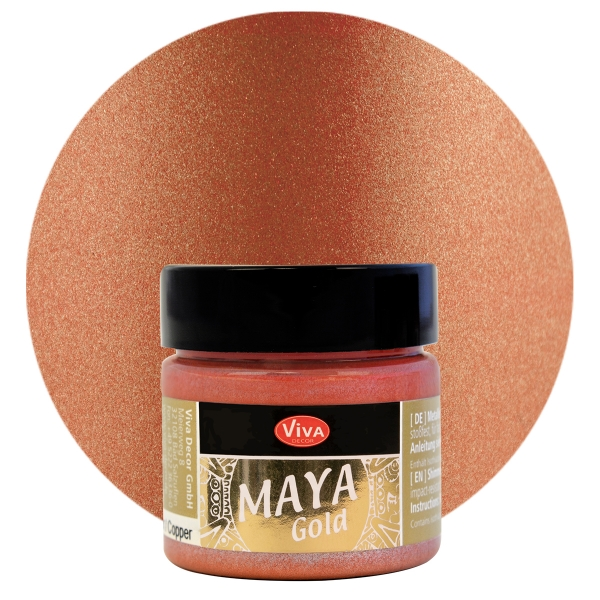 Viva Decor   Maya Gold         Koppar   45 ml