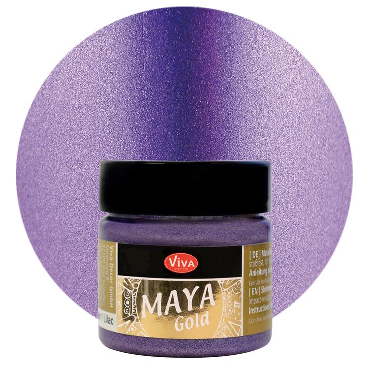 Viva Decor Maya Gold Lilac