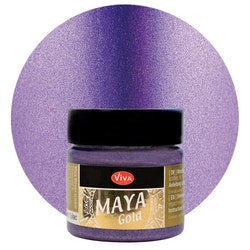 Viva Decor Maya Gold Lilac