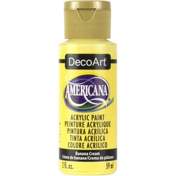 DecoArt Americana Banana Cream