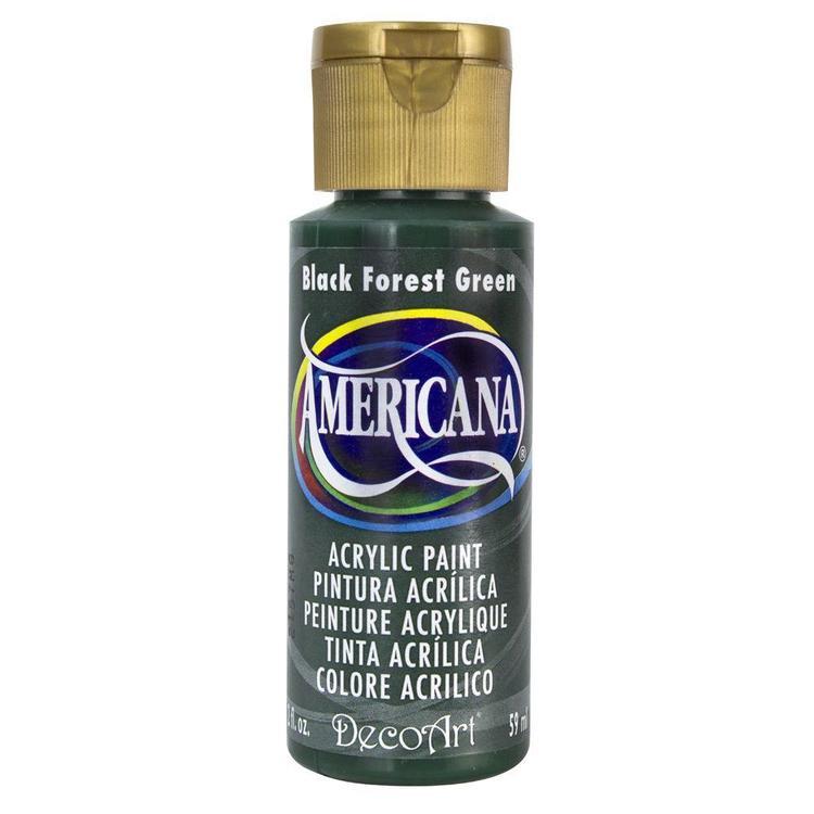 DecoArt Americana Black Forest Green