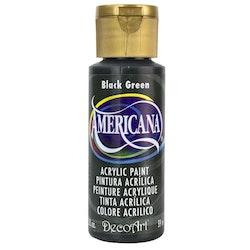 DecoArt Americana Black Green