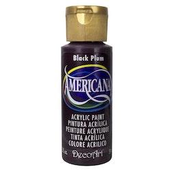 DecoArt Americana Black Plum