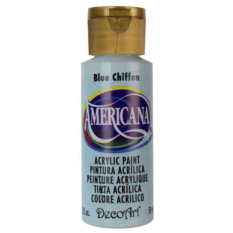 DecoArt  Americana  Blue Chiffon