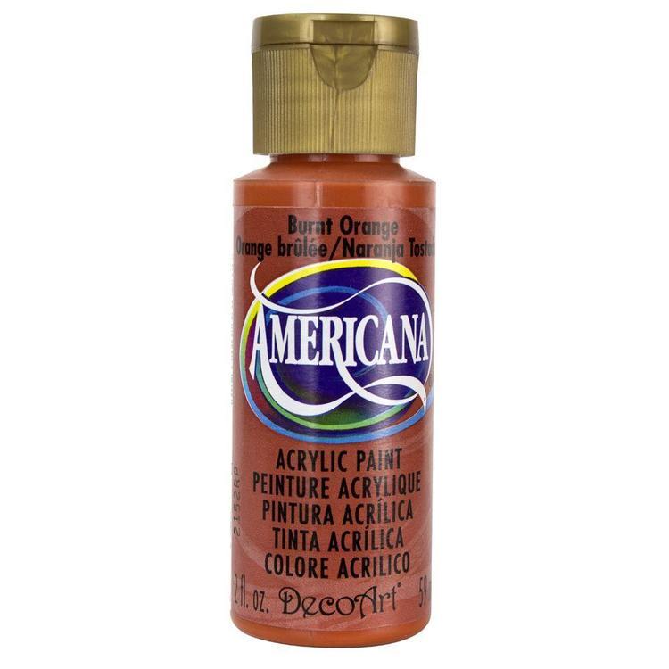 DecoArt Americana Burnt Orange