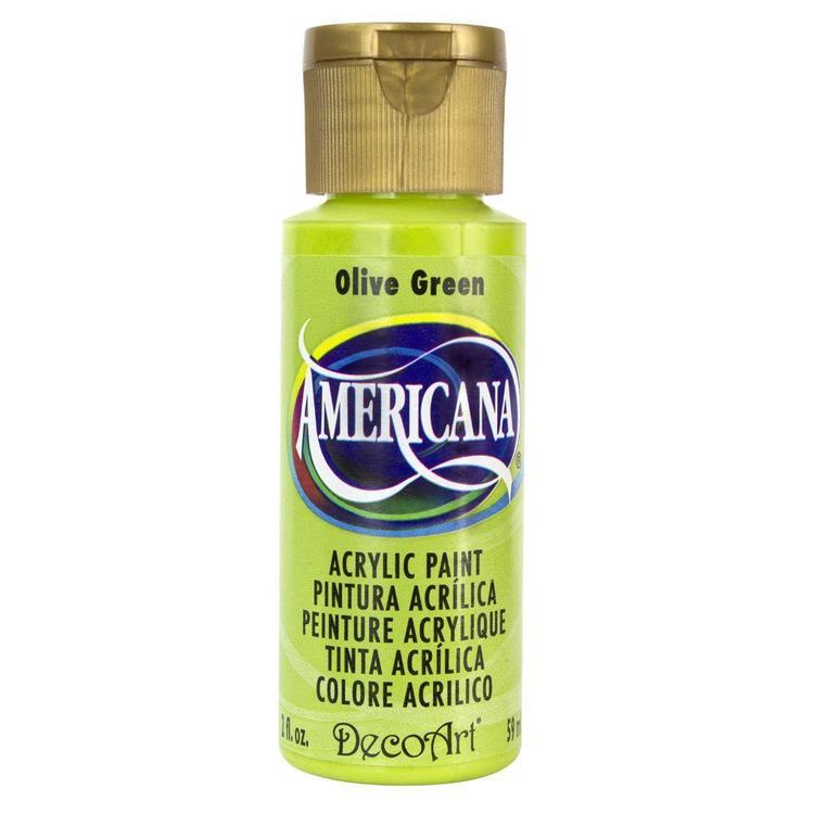 DecoArt Americana Olive Green