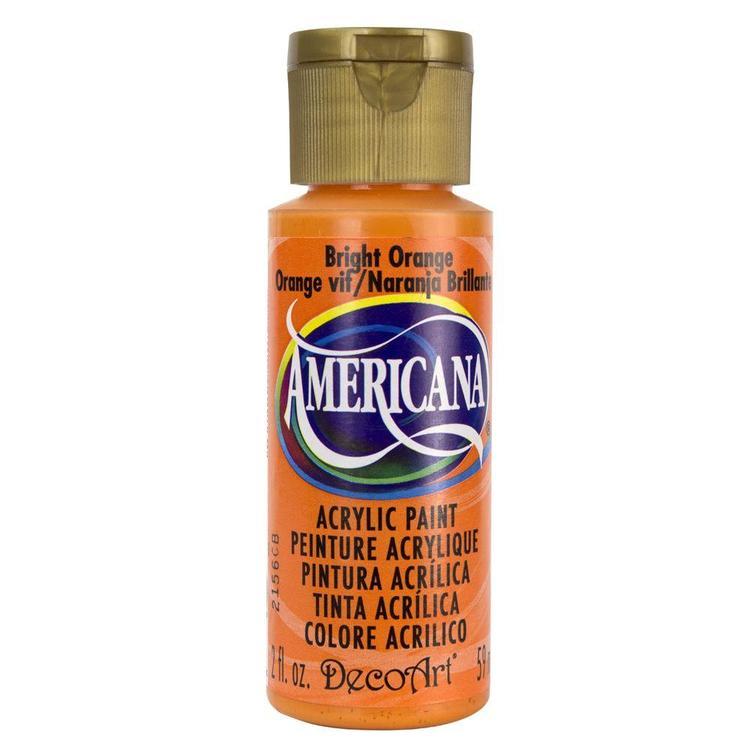 DecoArt Americana Bright Orange