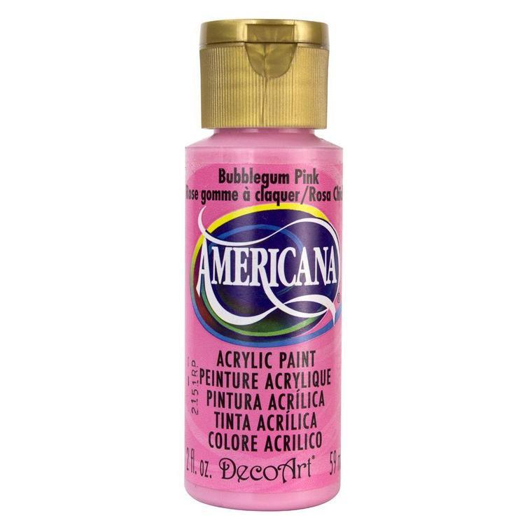 DecoArt Americana Bubblegum Pink