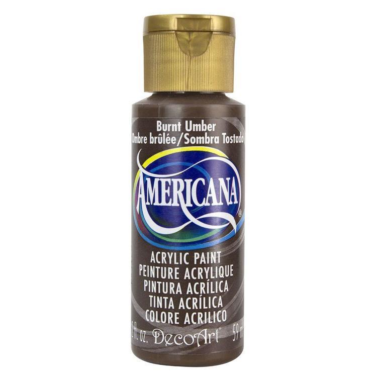 DecoArt Americana Burnt Umber