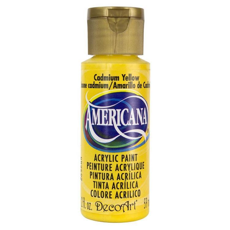 DecoArt Americana Cadmium Yellow