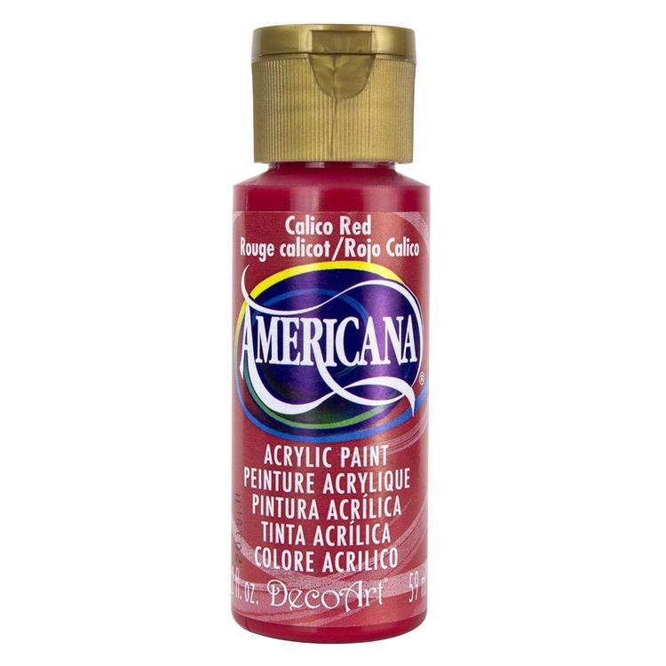 DecoArt Americana Calico Red