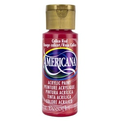DecoArt Americana Calico Red