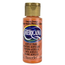 DecoArt Americana Canyon Orange