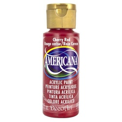 DecoArt Americana Cherry Red