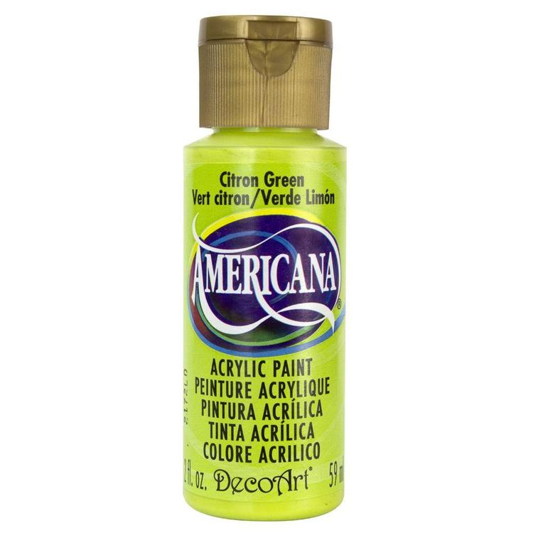 DecoArt Americana Citron Green