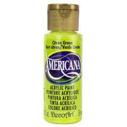 DecoArt Americana Citron Green