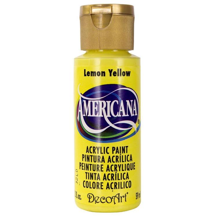 DecoArt Americana Lemon Yellow