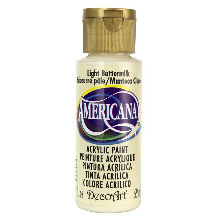 DecoArt Americana Light Buttermilk