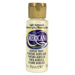 DecoArt Americana Light Buttermilk