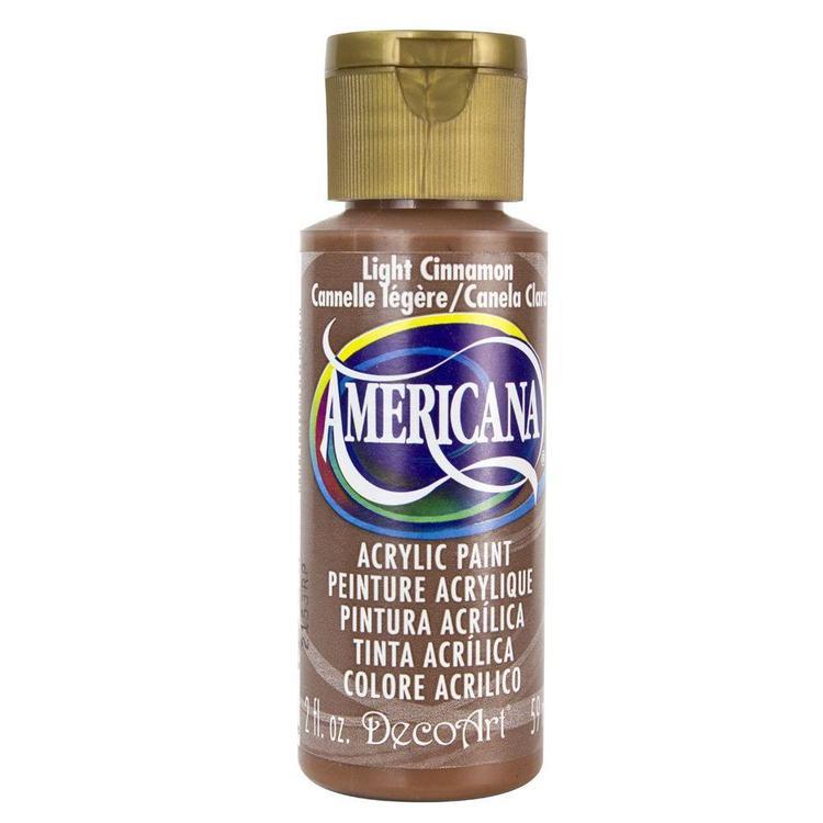 DecoArt Americana Light Cinnamon