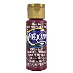 DecoArt Americana Napa Red