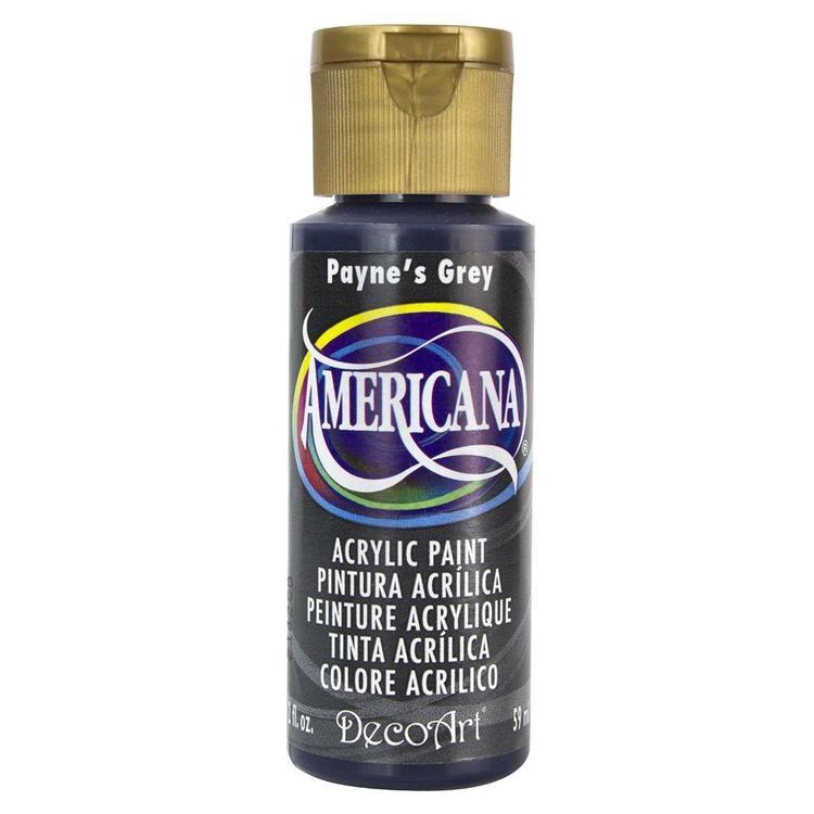DecoArt Americana Payne's Grey