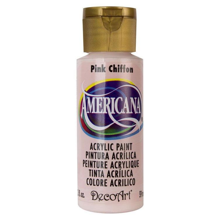DecoArt Americana Pink Chiffon