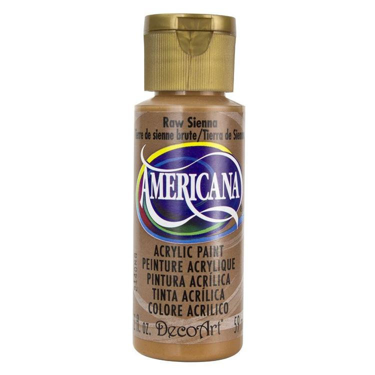 DecoArt Americana Raw Sienna