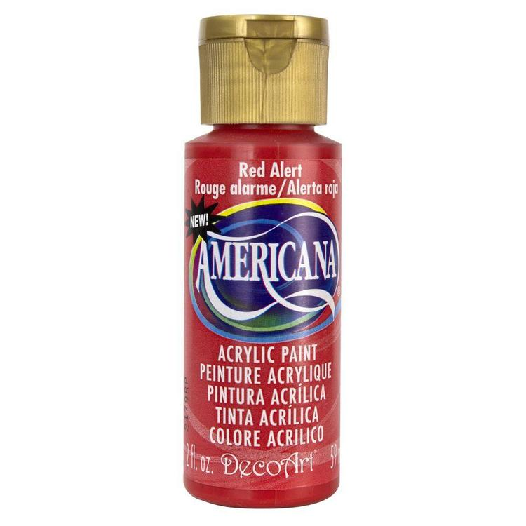 DecoArt Americana  Red Alert