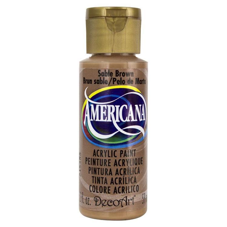 DecoArt Americana Sable Brown