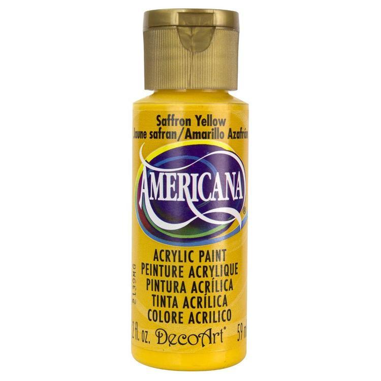 DecoArt Americana Saffron Yellow