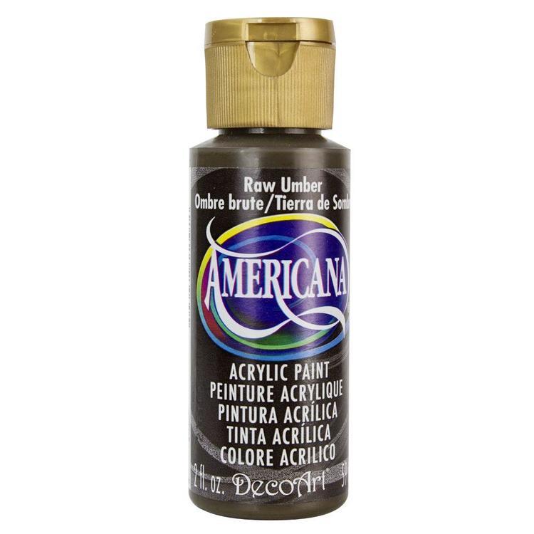 DecoArt Americana Raw Umber
