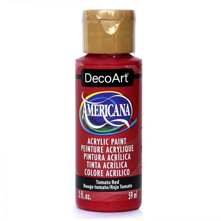 DecoArt Americana Tomato Red